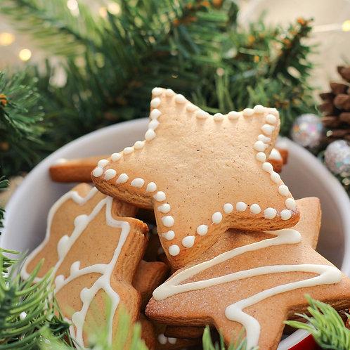 Gingerbread Cookies -8 oz Mason Jar