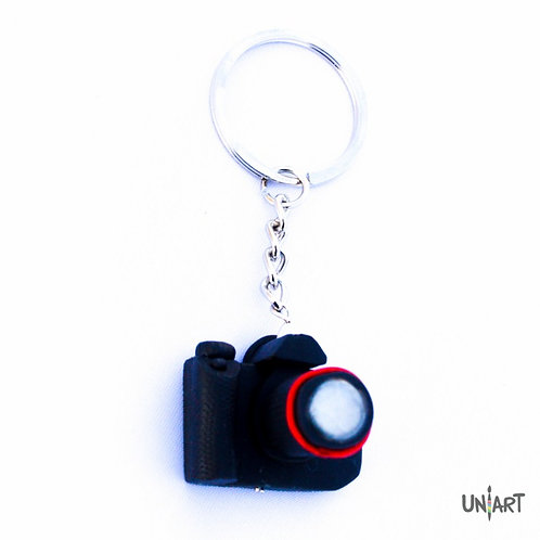 camera photography canon nikon keychain holder uniart accessories favorite things miniature handmade art clay polymer gift