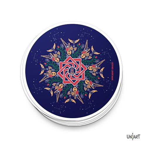 Mandala ll Sticker