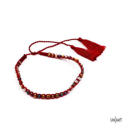 Bracelet Maroon Oath