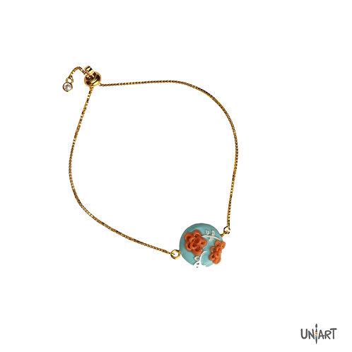 The rosette bracelet
