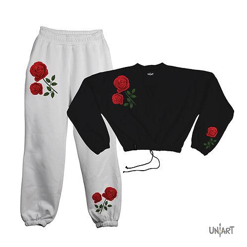La rosa II sweat suit