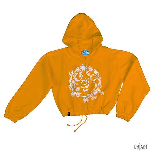 Al Rwh crop hoodie