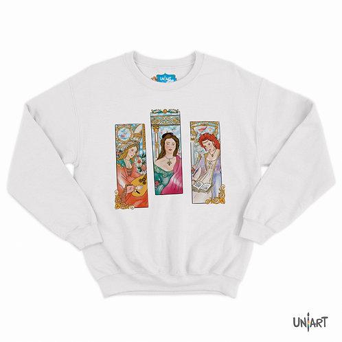 The three madonnas sweatshirt