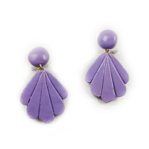 Farah shell earrings