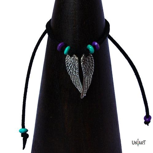 uniart accessories wing anklet handmade freedom al hurriya حرية wings