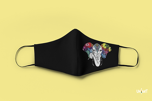 Hymn Tune of Elephants Face Mask