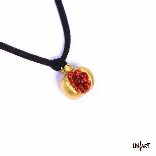Gold Pomegranate Necklace