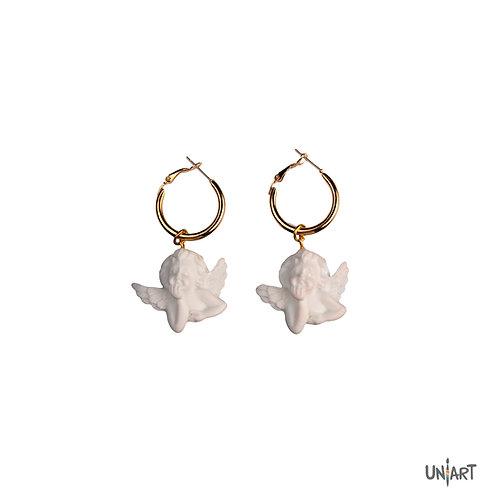 Angel by the wings earrings