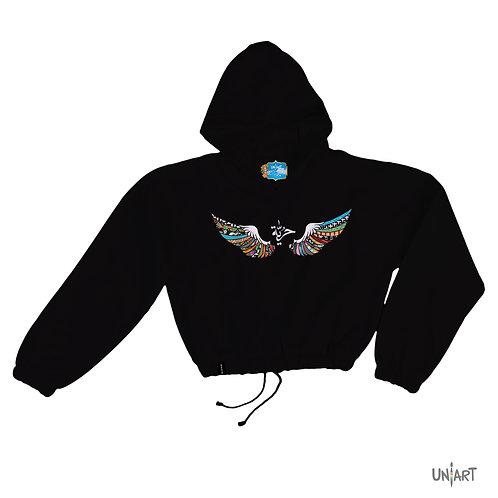 Al Hurriya crop hoodie