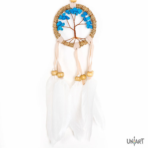 Dreamcatcher tiny stones tree of life