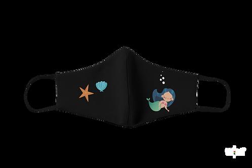 Baby mermaid Kids Mask