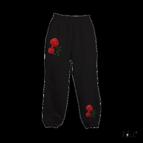 Summer pants -La rosa