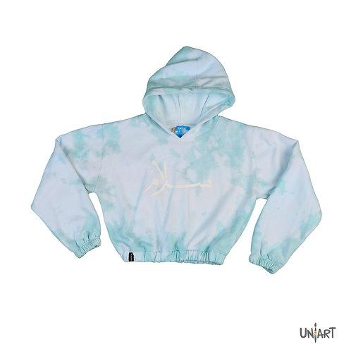 The ether salam crop hoodie
