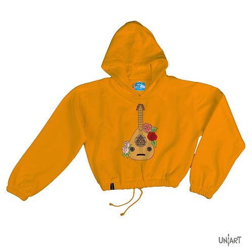 Oud wa Woroud  crop hoodie