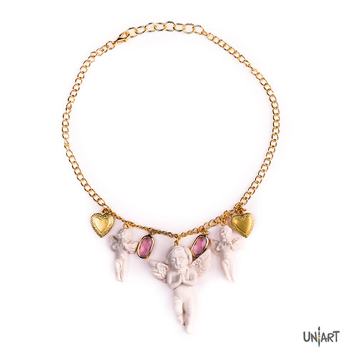 Angel by the wings necklace