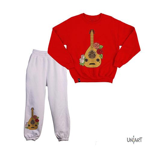 Oud wa Woroud sweat suit