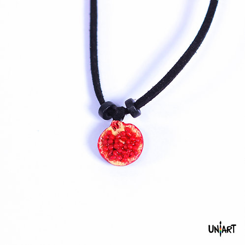 Black Pomegranate II Necklace
