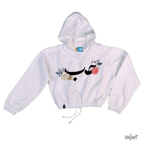 Hob crop hoodie