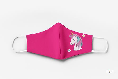 Shining Unicorn Kids Mask