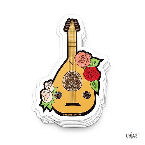 Oud wa Woroud Sticker