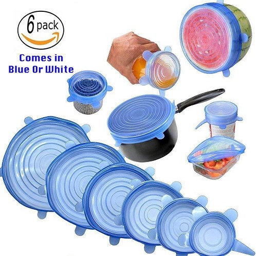 Food Storage Cover Reusable Silicon