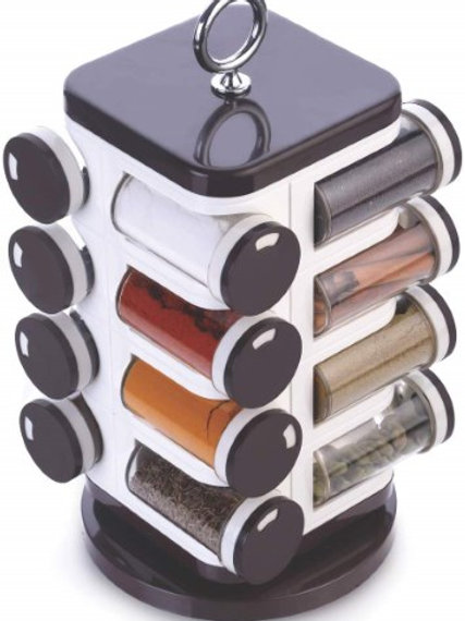 Spice Rack 16 pc Revolving Container Set