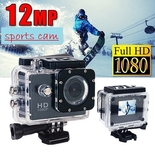 Full HD Sports Cam Water Proof 1080P Camera with 2.0 Inch LCD Display