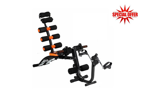 Heavy 6 Pack Care Exercise Machine With Paddle (Cycle)