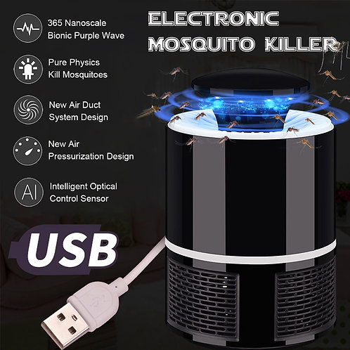 Electric Mosquito Killer Lamp With LED Bug Zapper