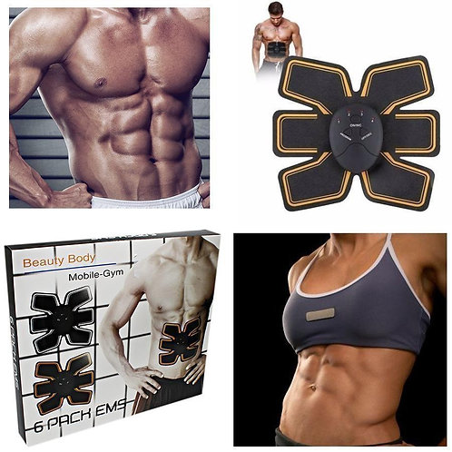 6 Pack EMS Abs Stimulate Abdominal Trainer Belt (Unisex)