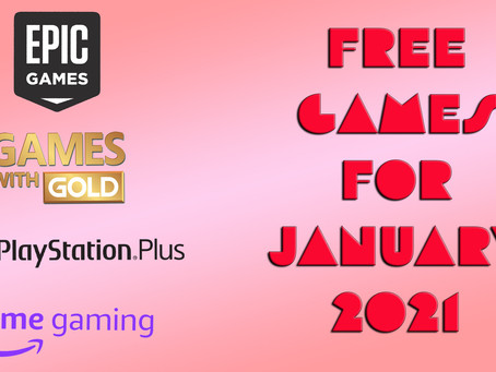 Free Games for January 2021