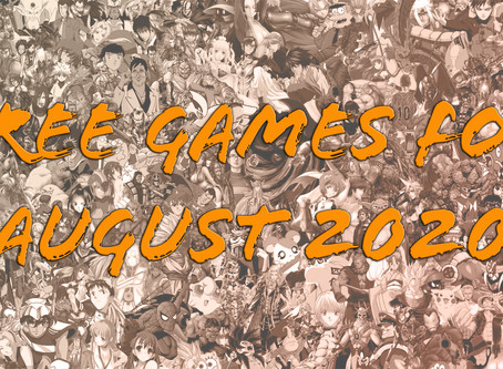 Free Games for August 2020