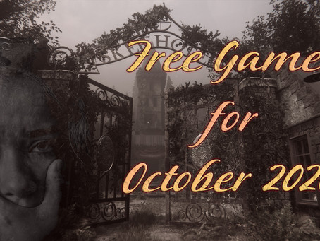 Free Games for October 2020