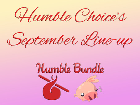 Humble Choice's September Line-up