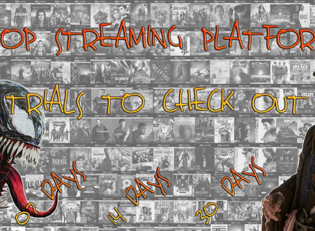 Top Streaming Platform Trials To Check Out