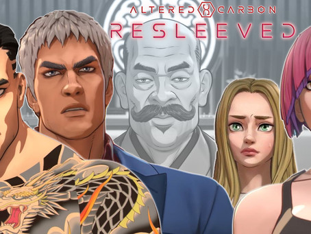 Noob Reviews: Altered Carbon: Resleeved