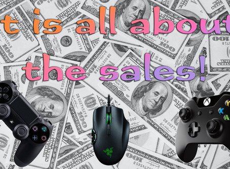 It is all about the sales!