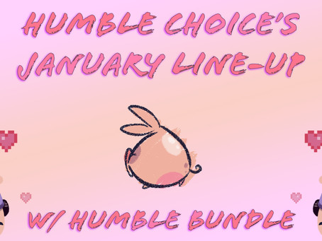 Humble Bundle's January Line-Up