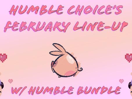Humble Bundle's February Line-Up