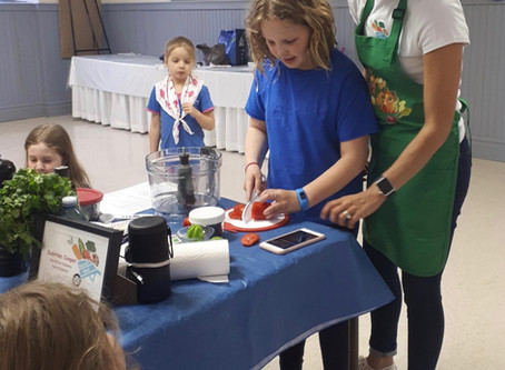 Campbellville Girl Guides Workshop