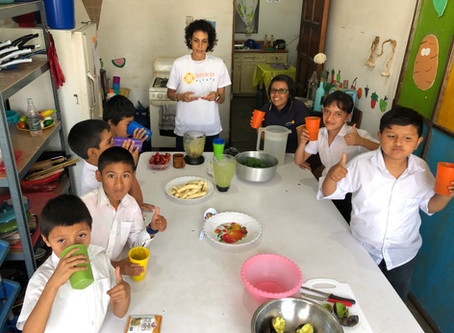 Culinary Nutrition Workshop in Guatemala