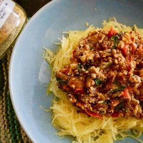 Unspaghetti with Lentil Sauce