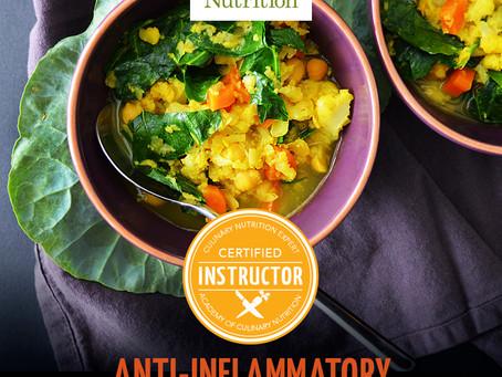 Anti-Inflammatory Culinary Workshop