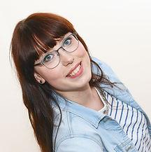 Augenoptikermeisterin Sarah Schmidt