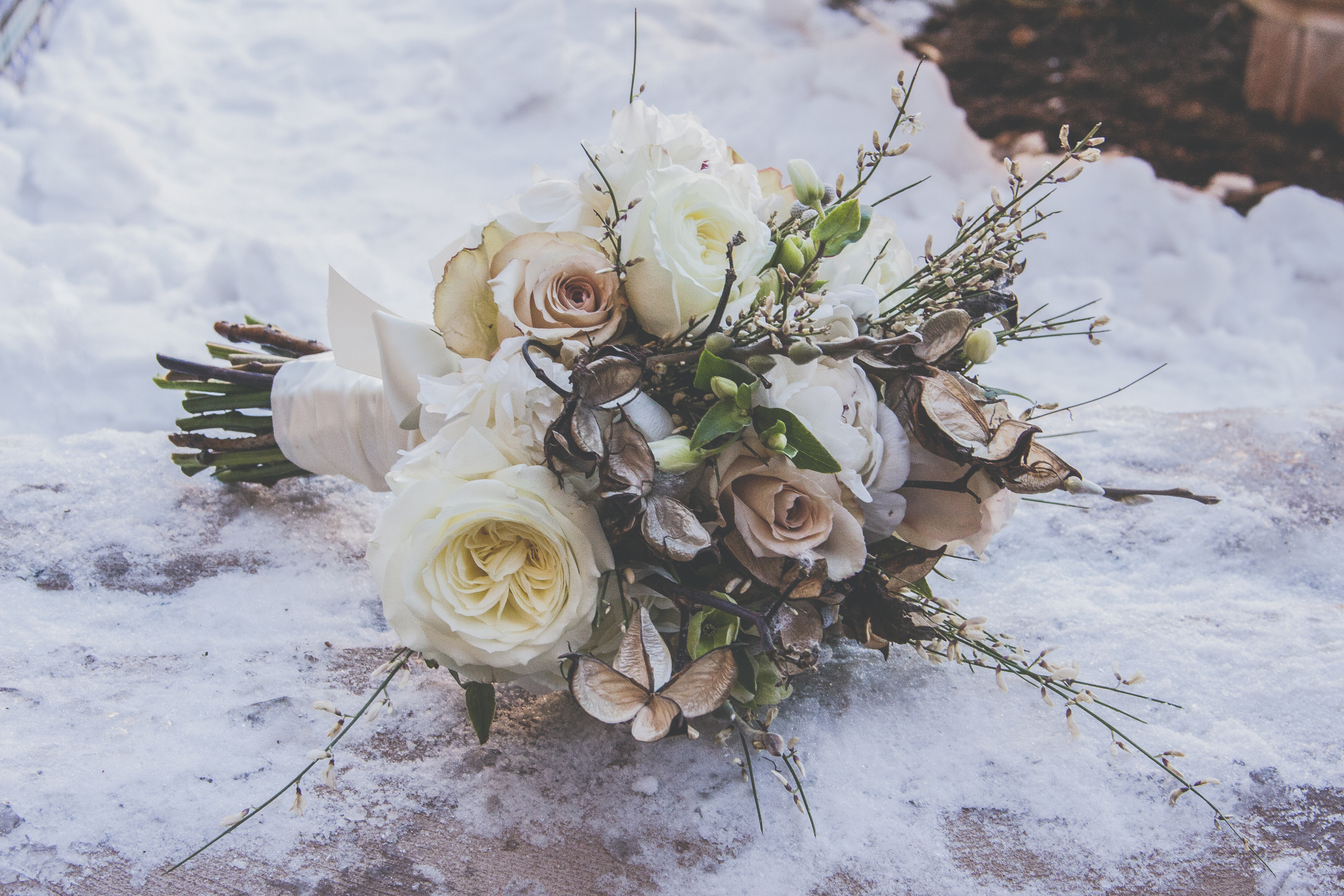 flowers_by_azalea_bride_bouquet_whimsical_Winter_Wedding