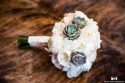Flowers by Azalea Bride Bouquet Succulents