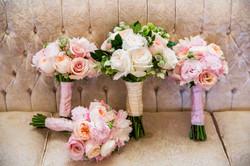 flowersbyazalea_Twin_Oaks_Garden_Estate_Romantic_Copper_Wedding_Blush_Pink_Bride_Bridesmaid_bouquet_