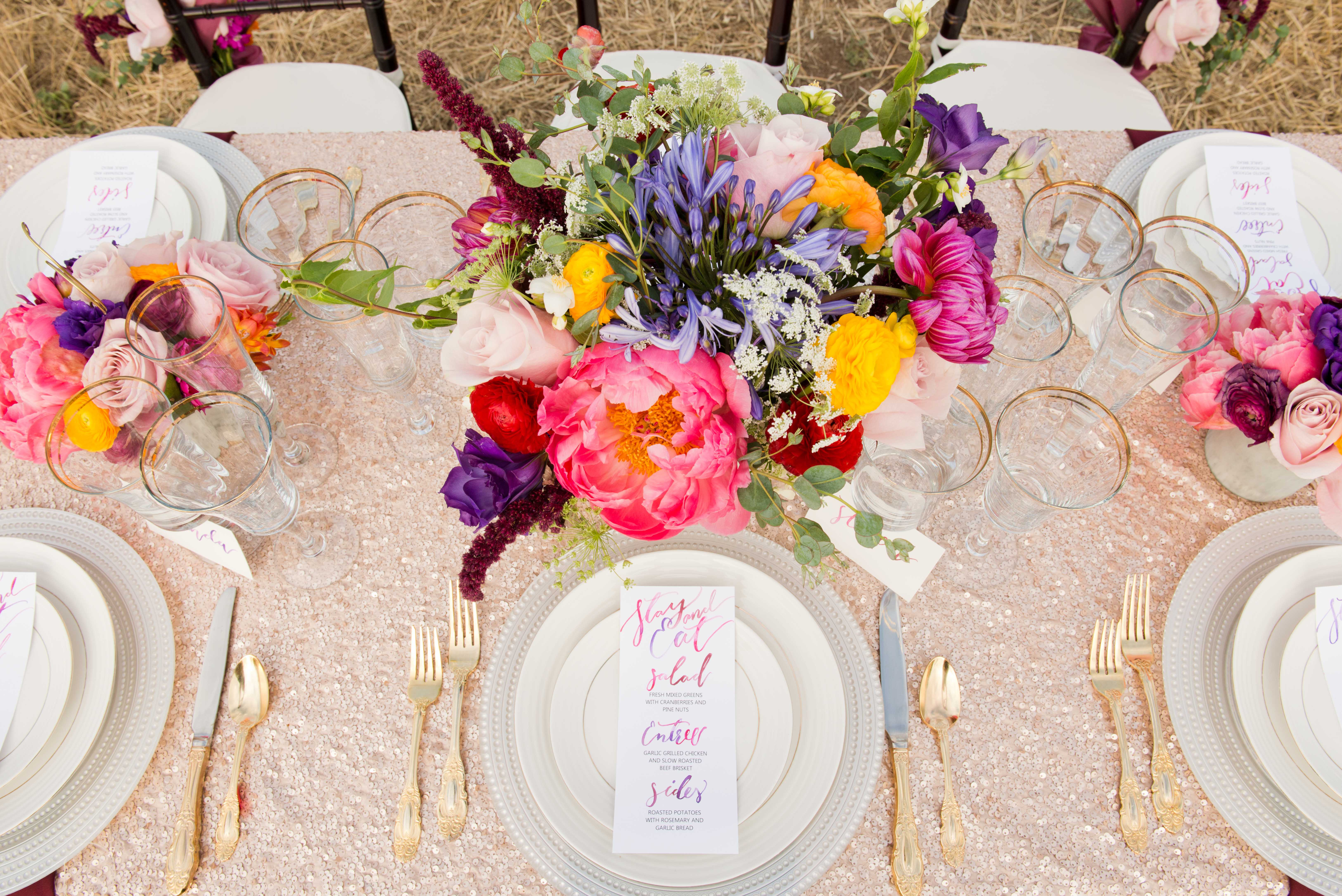 Flowers by Azalea Tablescape