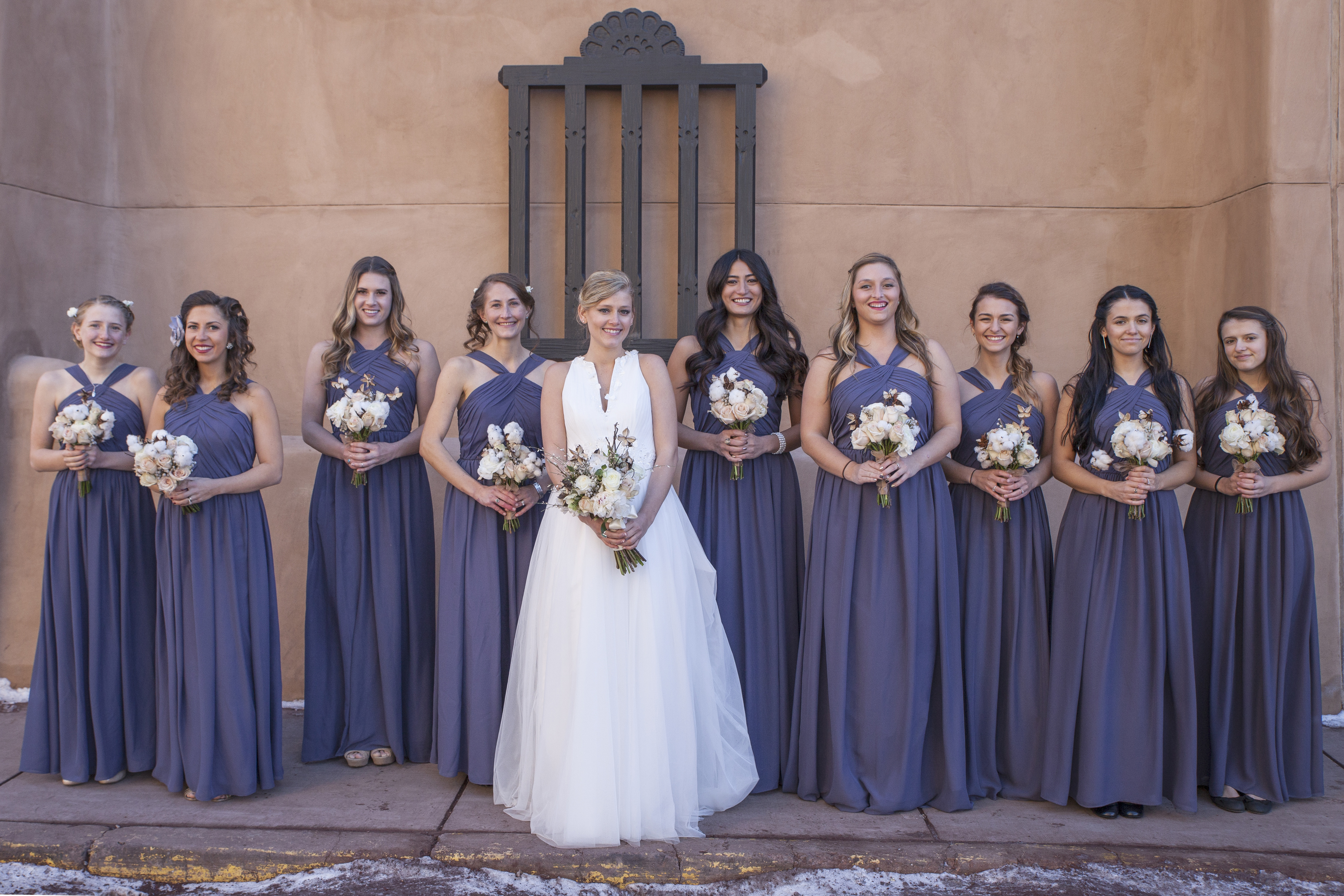 flowersbyazalea_dusty_blue_bride_bridesmaid_bouquet_whimsical_Winter_Wedding